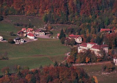 Les Sciernes village